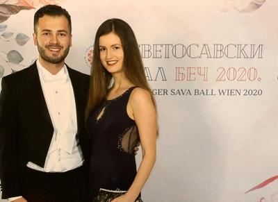 Der heilige St. Sava Ball in Wien