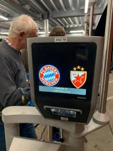 FC Bayern München - Rotern Stern Belgrad (Fussballspiel in München)