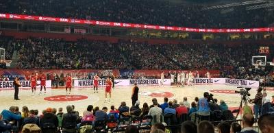 Rotern Stern Belgrad - FC Bayern München (Basketballspiel in Belgrad)