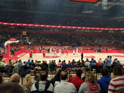 Roter Stern Belgrad - FC Bayern München (Basketballspiel in Belgrad)_2