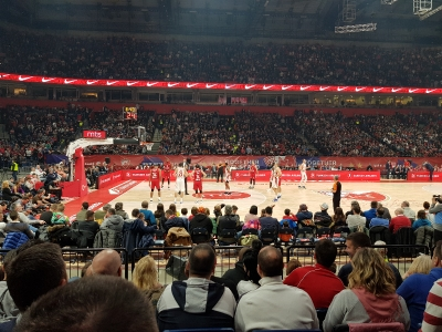 Roter Stern Belgrad - FC Bayern München (Basketballspiel in Belgrad)_3